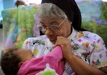 CATONSVILLE, MD -- 9/17/08 -- OBLATE SISTERS -- Oblate Sisters of Providence… by André Chung [Iris Photographer] #AFC_1358