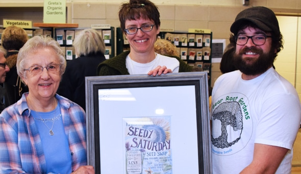 Kingston Seedy Saturday Says 'Thank you!'