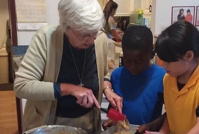 Volunteer at Work–Making a Difference